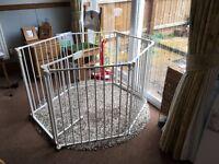 Babydan playpen room divider (configure gates)