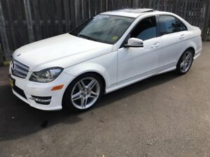 2013 Mercedes-Benz C-Class 350, Automatic, Leather, Sunroof, AWD