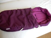 STOKKE cosytoes in purple (2 tone) - excellent condition