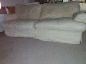 Superb 4 seater feather filled sofa