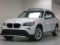 2012 BMW X1 2.8I NAVIGATION CUIR TOIT PANO