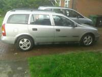 2001 Automatic Vauxhall astra 1.8 estate long mot SWAP