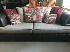 3 and 4 seater settees