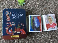 Panini FiFA World Cup Russia 2018 256 stickers