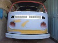 Volkswagen Vw T2 1979 Kombi / Camper Unfinished Project