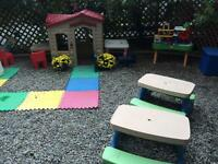 Toddler centre for Ages 0 to 3 has space