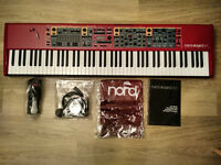 Clavia Nord Stage 2 EX HA 88 plus optional accessories