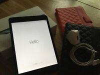 IPad mini 32gb Wifi - excellent condition in original box & comes with two smart cases