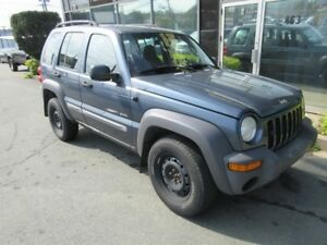 2002 Jeep Liberty 5-SPEED 4X4 SUV