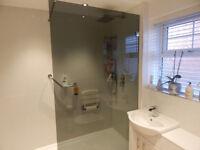Merlyn 10 Series wet room Glass Panel