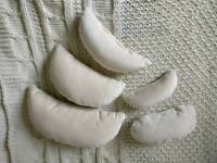 Newborn photography positioning pillows