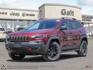 2019 Jeep New Cherokee TRAILHAWK ELITE 4X4 | 0% UP TO 72 MONTHS