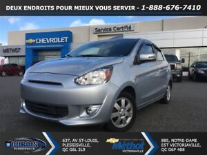 2015 Mitsubishi Mirage SE + MANUELLE + EXCELLENTE CONDITION