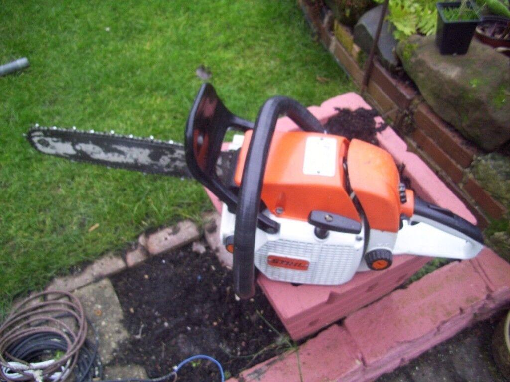 Stihl 028av chainsaw in sheldon west midlands gumtree stihl 028av chainsaw greentooth Choice Image