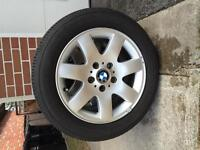 "16"" Michelin All Season Tires & Rims for BMW"