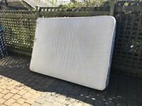 Used Double orthopaedic mattress fair condition