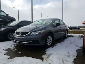 2015 Honda Civic LX *Low Payments* *Low KM* *Great First Car*