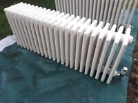 Old school style 1m long six bar wide radiator