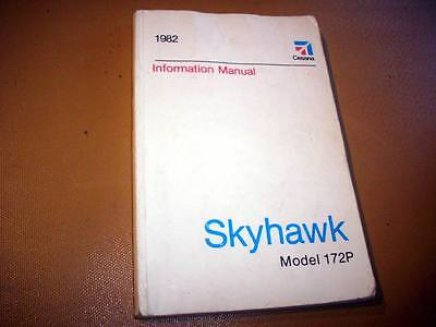 1982 Cessna 172P Skyhawk Information manual