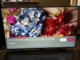 "LG 55"" 4K UHD Twin Tuner smart tv"