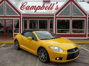 2011 Mitsubishi ECLIPSE SPYDER GT-P V6!! HEATED LEATHER!! CRUISE