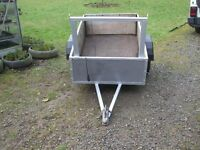 Handy car Trailer for sale well made sturdy new tyres mudguards fitted