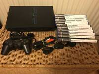 PlayStation 2 console and kids games bundle. Ps2
