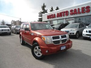 2008 Dodge Nitro 4X4 AUTO SUNROOF TOW PAC ALLOY A/C SAFETY PW PL
