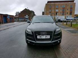 AUDI q7 2007 s line 3.0 Tdi diesel chain low milage service history