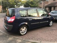 Renault Grand Scenic Automatic 7 seater MOT AUG 2019