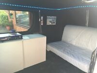 REDUCED FOR QUICK SALE Renault traffic campervan, oven and hob with rock n roll bed 12 months MOT