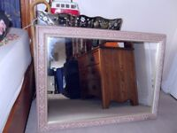LOVELY LARGE MIRROR (68 X 95 CMS)