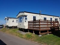 ***Book Now*** Beautiful 2 bedroom 6 berth Caravan with Decking Area . May Mon 22nd - Fri 25th £180
