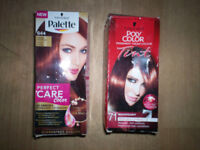 ladies hair dyes (SCHWARZKOPF)