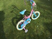 Child's bike with stabilises 3-7 years