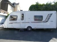 2010 Swift Challenger 570, Fixed Bed, Motor Mover, Built-In TV, Alarmed, Excellent Condition