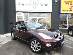 2011 Infiniti EX35 LUXURY|AWD|BLUETOOTH|BACK UP CAM|NO ACCIDENT