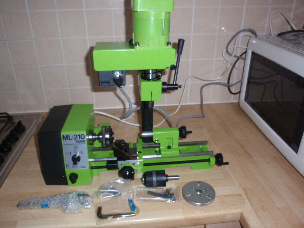 Toyo Ml 210 Lathe In Wirral Merseyside Gumtree