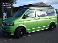 VOLKSWAGEN TRANSPORTER 2.0 TDI Sportline Spec Special Viper Camper Van (viper green) 2013