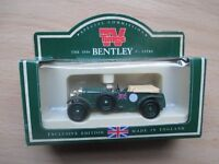 1930 Bentley 4.5 litre die cast model in Special TV Times edition box, Christmas stocking filler!