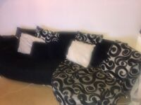 Two peice Sofa **GOOD CONDITION** free delivery in Northampton