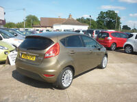 FORD FIESTA 1.4 TDCi Titanium 5dr (brown) 2012