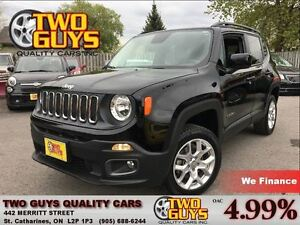 2015 Jeep Renegade NORTH LATITUDE 4X4 HTD SEATS & STEERING WHEEL