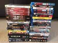 DVDs and blu rays, £5 for the lot