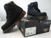 Brand New - Dr Martens Air Wair steel toe cap boots, UK Size 8