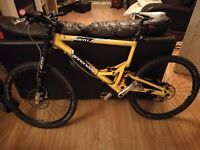 Cannondale Jeykll 700 full suspension Lefty pro Mountain Bike - BARGAIN!