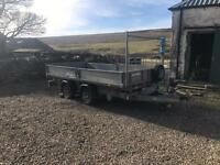 Ifor Williams tt106 tipping trailer