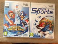 2 Wii sports games