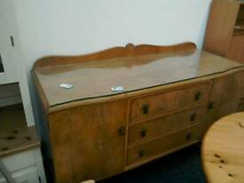 Walnut sideboard #32543 £70