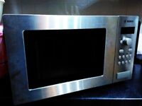 BOSCH Microwave 800W Stainless Steel effect